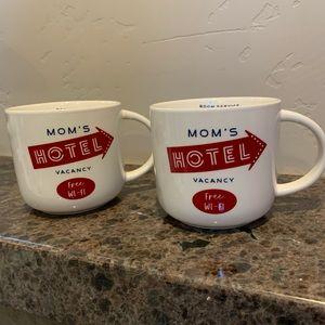 Threshold Kitchen - Mom's Hotel Mugs - set of 2